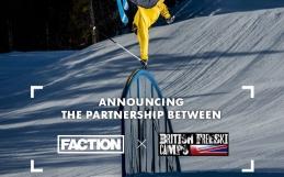 British Freeski Camps Partner FACTION SKI's