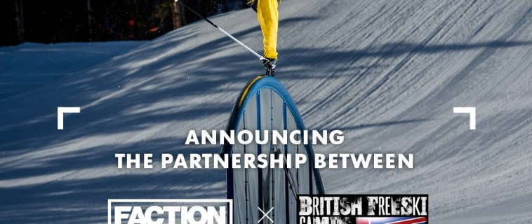 British Freeski Camps Partner FACTION SKI's