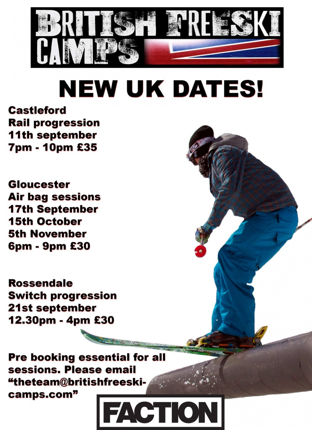 british freeski camps new dates